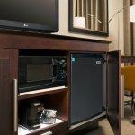 Microwave & Mini Fridge
