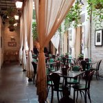 Lovely courtyard like dining for casual dining