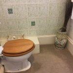 Bathroom in The Vestry room.