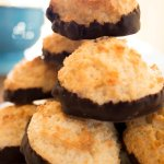 We make a variety of gluten free goodies! Our chocolate dipped coconut macaroons are really popu