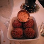 The hushpuppies were delicious!