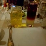Beer and Sangria at the Steakhouse!