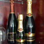 Champagne too!