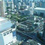 32 этаж-вид на город.