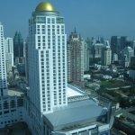 Вид на город из номера.32 этаж.