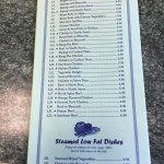 China Restaurant menu