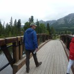 Walk from hotel into Canmore