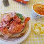 Jumbo lobster rolll