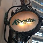 The Knuckles sign circa 2014