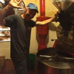 This Guy!! One of the most amazing people you can meet in Pana, And award-winning coffee roaster