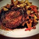 CotoletteDi Maiale Alla Griglia (Grilled Pork Chops in a Balsamic Reduction)