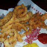 Chicken fingers and onion rings