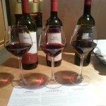 wine flight sampling
