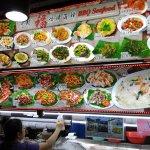 BBQ seafood stall