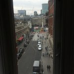 View from bedroom of Liverpool Street