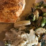 Crab cakes, stuffed halibut and N. O salt oysters