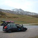 Timmelsjoch high alpine road Foto