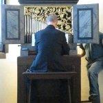 Vorführung der Orgel
