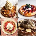 A great selection of fresh waffles. All made to order.