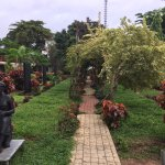 Pleasant areas to walk