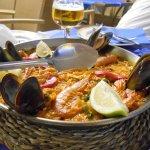 Restaurante Azul del Hotel Tikar