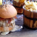 Mouthwatering burger that will definitely be consumed in mere minutes.