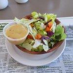 My salad. Fresh but uninspired.