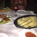 pasta aglio oglio family size....
