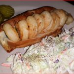 Shrimp Roll and Slaw