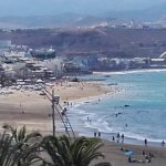 The View From the Balcony of Room 406 Hotel Aloe Canteras