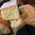 Corn Bread and Rolls