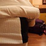 Mattress wider then bed
