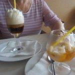 Irish coffee et glace banane ty rhum réunionnais
