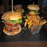 Burger double steack