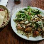 My Lunch Dish at Cedar's Restaurant