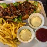 Great steak sandwich...