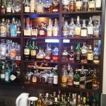 Amazing selection of whisky!! Wow.........we tried a few