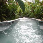 One of the hidden jacuzzis