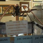 Jewelry designer uses non-reactive metals in beautiful creations