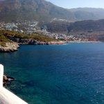 Beautiful view towards Kalkan