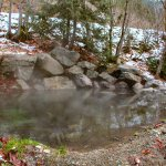 Tsek Hot Springs source pool