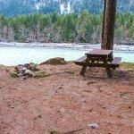 Riverside camping at Tsek Hot Springs