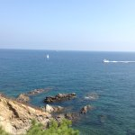 Another view of the Mediterranean from our caravan