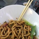 Great size portion for noodles.. maybe try two different mains and share?
