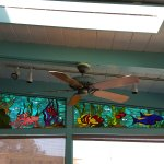 Cool Stained Glass of Sea Creatures