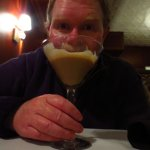 Colin's chocolate martini.
