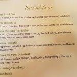 Mega Breakfast Available