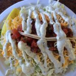 Fresh fish tacos= yum!