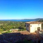 Vue sur le golfe de Saint Tropez (les Magnolias)