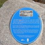 Most recent descriptive plaque on Heritage Park site